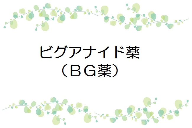 ビグアナイド薬(BG薬)