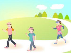 有酸素運動(ウォーキング、ジョギング)