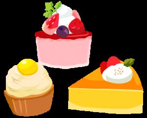 ケーキ、スイーツ