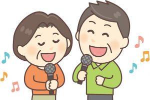 趣味、歌を歌う、カラオケ