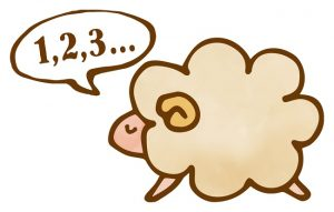 「羊が一匹、羊が二匹・・・」